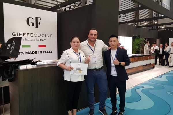 Forniture China 2019 entra nel vivo!